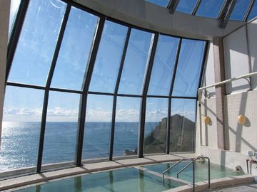 展望露天風呂からの眺めが、見事ですよ