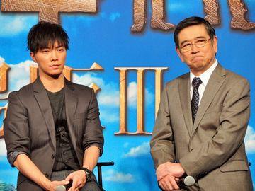 甲斐享のお父上を、石坂浩二が演じてますね