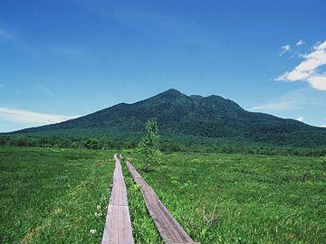 『尾瀬ヶ原』に敷かれた木道