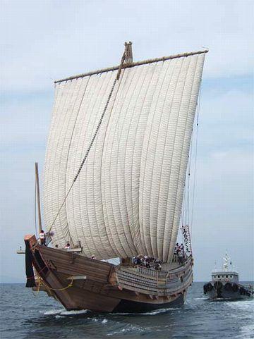 北前船に便乗して秋田へ帰った