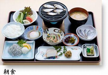 桂浜荘・朝食
