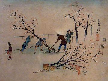 表向きは、江戸城の奥庭を管理する役職です