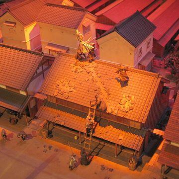 『消防博物館』のジオラマ