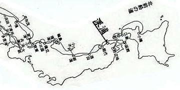 藩政時代は、北前船の風待ち湊として栄えました