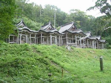 赤神神社・五社堂