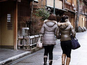 冬の金沢、女ふたり旅。いいですねー。