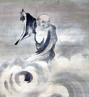 普化禅師振鈴図