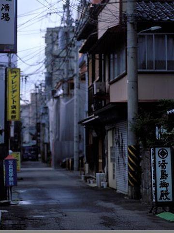 新潟市古町にある『昭和新道』