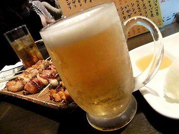 もっとも悪いのは、ビールです