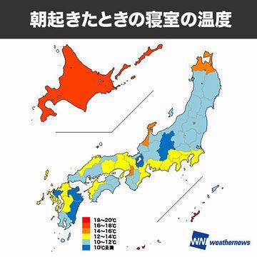 北海道人が冬場、内地の家に入ると、寒くてたまらないんだって