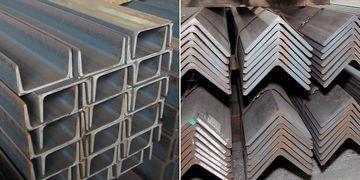 もともとは溝形鋼や山形鋼で構成されてた水平材と斜材が……