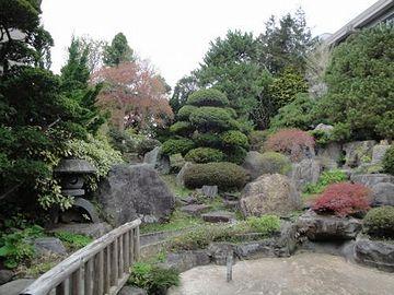 こりゃ、典型的な日本庭園ですな