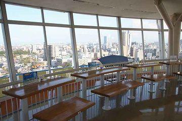 日本海タワー・回転する展望台