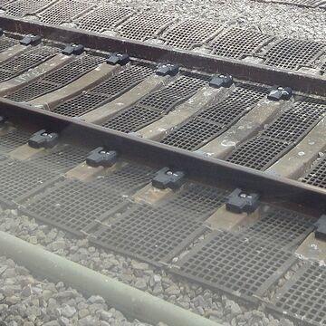駅構内の線路