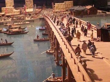 江戸時代の両国橋