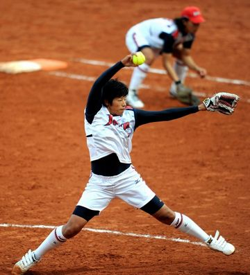 日本のエース、上野由岐子投手