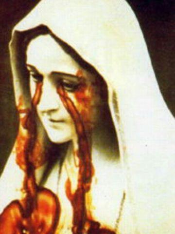 ポルトガルのファチマ聖母像の写真