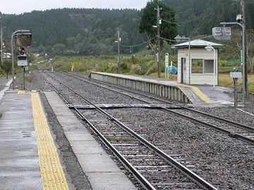 こちらが、『北金ヶ沢駅』