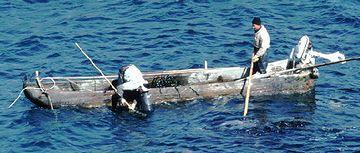 男鹿では、1990年ころまで、丸木舟が使われていた