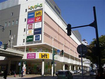 ダイエーだった建物は、『ラブラ万代』という商業ビルになってます