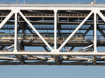 瀬戸大橋を渡る【マリンライナー】。あんまり外を見たくないですね。