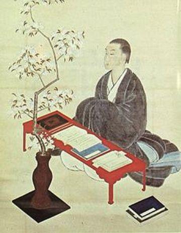 敷島の大和心を人問わば朝日に匂う山桜花