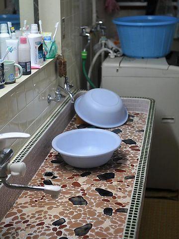 民宿『いがわ』洗面台は共同