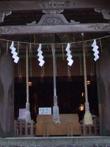 真山神社・賽銭箱