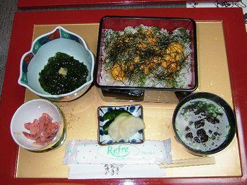 美野幸「ウニ丼」