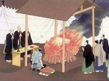 江戸時代の火葬