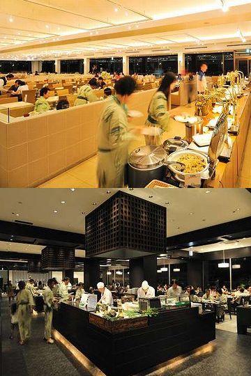杉乃井ホテル・バイキングレストラン「Seeds」・席