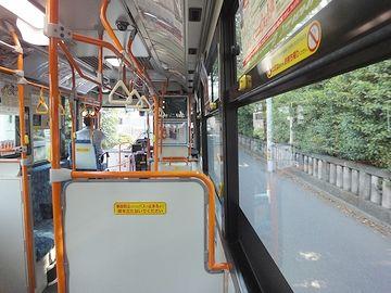 バスの中も、ちゃんと撮ってました