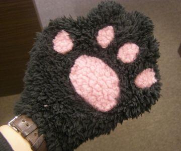 手袋すれば?