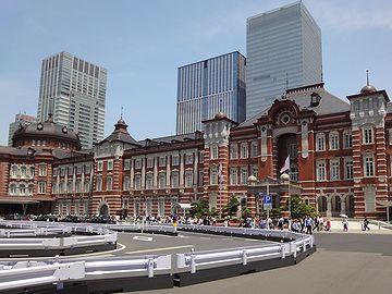 これが、そのとき撮った東京駅です