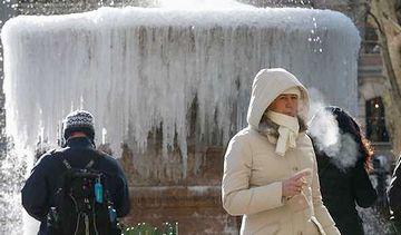 2015年初頭、アメリカを襲った寒波
