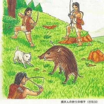 役割は、猟犬であり番犬です