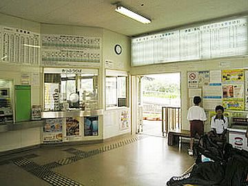 『南小松島駅』は、小松島市の中心駅だそうです