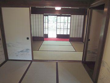 『西川家別邸』内部