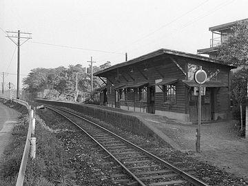 1973年(昭和48年)の『岩崎』駅