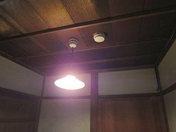 女中部屋の天井