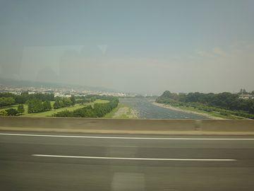 いつの間にか、関東平野に出てました