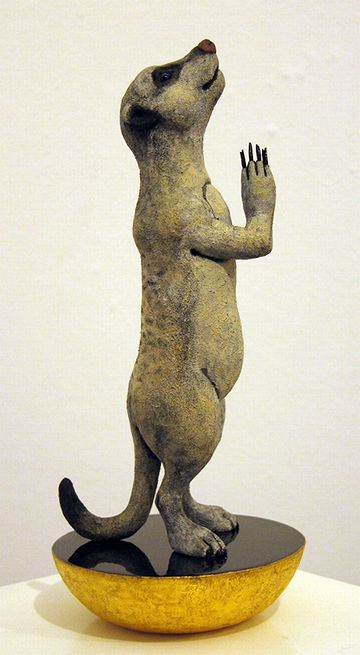 木彫『Soleil 太陽崇拝』馬塲稔郎