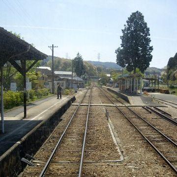 明知鉄道(旧国鉄・明知線)『岩村駅(岐阜県恵那市)』