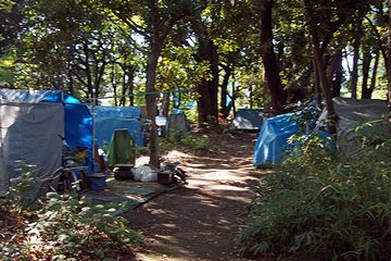 『代々木公園』の奥地
