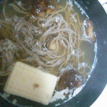 湯豆腐蕎麦