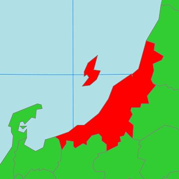 対馬海流の洗う新潟県の海岸線の長さを知っておるか?