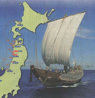 秋田は、北前船の通り道