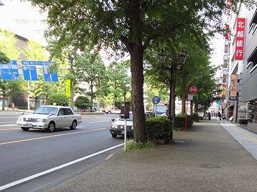 平日の午後ということもありますが、人通りが少ないです