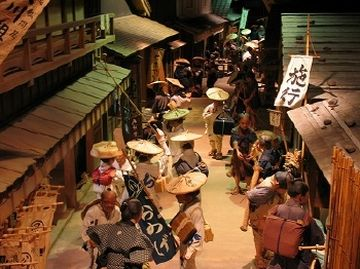 江戸時代ジオラマ