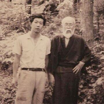 茂吉と、次男の北杜夫